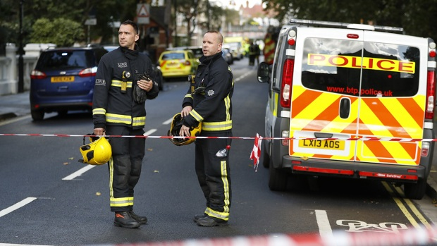 Injured In London Underground Train Blast