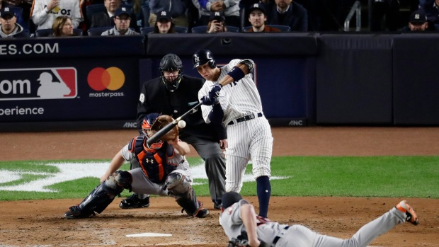 Top Sports: Aaron Judge Hits Three-Run Home Run