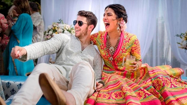 [NATL] Celebrity Hookups: Priyanka Chopra and Nick Jonas Married in Days-Long Celebration