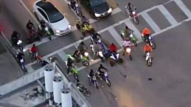 [MI] ATV Riders Swarm Roads in South Florida