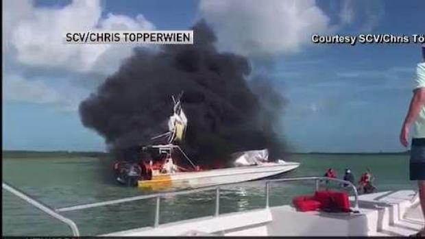 [MI] Aftermath of Deadly Boat Explosion Caught on Camera