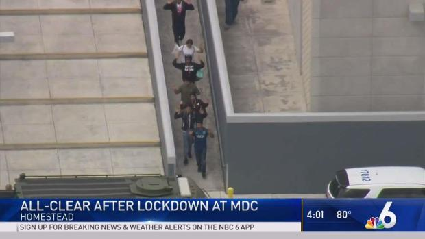All Clear After Major Police Response Lockdown At Miami Dade