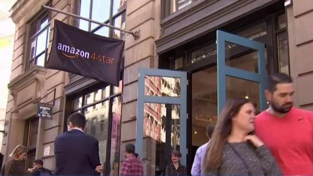 Amazon Opens Store in NYC