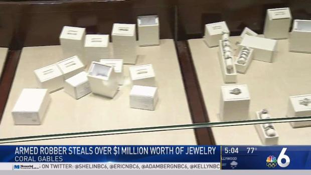 [MI] Armed Robber Steals More Than $1 Million in Jewelry