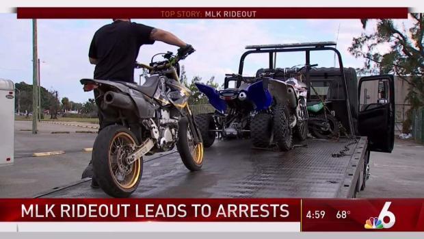 [MI] Arrests Made as MLK Rideout Underway