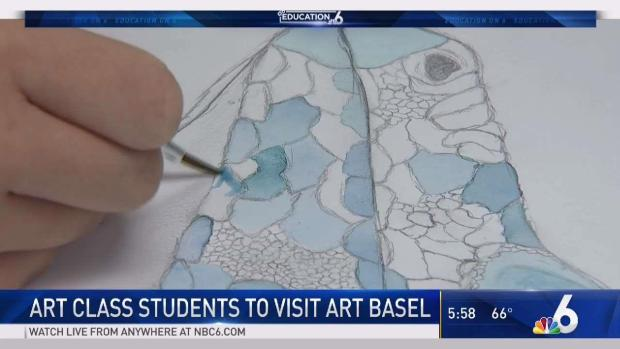 [MI] Miami Springs Art Students to Visit Art Basel