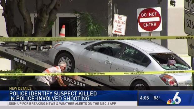 [MI] Authorities ID Suspect Killed in Miami Shootout