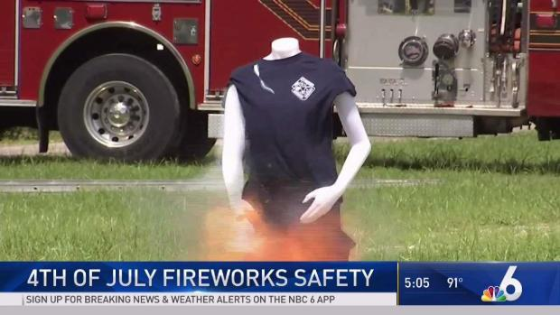 [MI] South Florida Authorities Stress Safety During July 4th