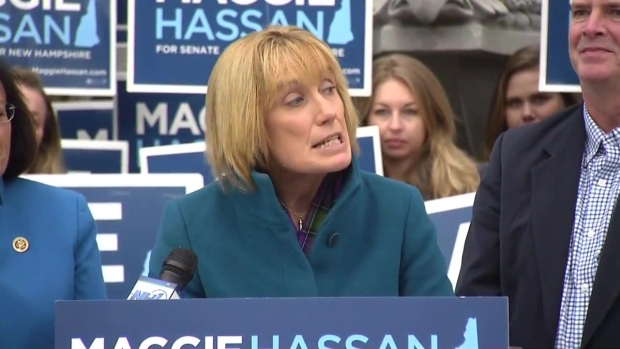 [NECN]Hassan Declares Senate Victory: 'I Will Put the People of New Hampshire First'