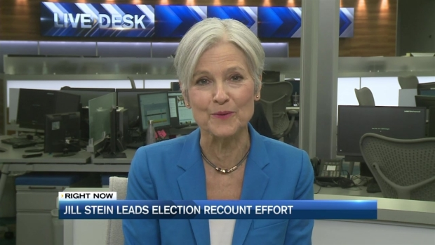 [NECN] Jill Stein Leads Election Recount Effort