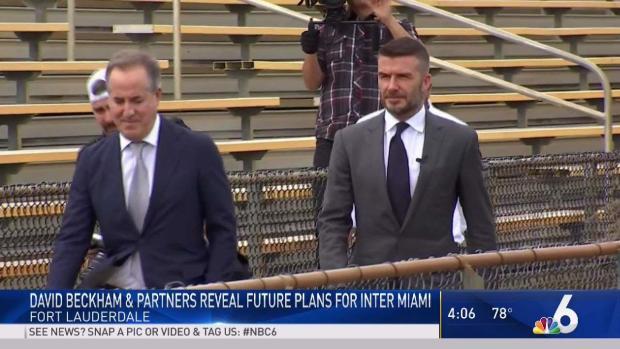 [MI] Beckham MLS Team Wants to Start Play at Lockhart