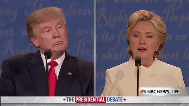 Clinton Speaks About Trump's Comments on Women