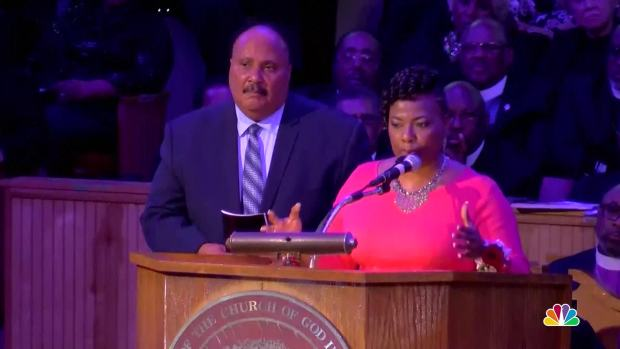 MLK's Daughter Speaks on Anniversary of Mountaintop Speech