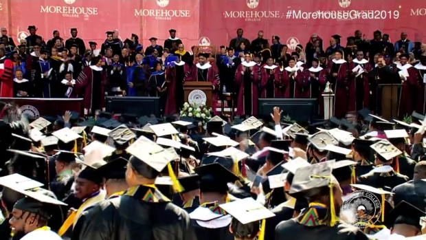[NATL] Billionaire Pledges to Pay $40M in Morehouse Student Loans