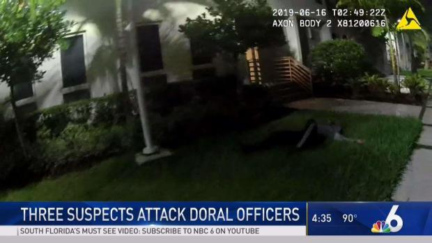 [MI] Body Cam Shows Doral Cops Fight Off Suspects
