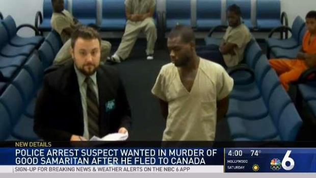 [MI] Broward Murder Suspect Caught in Canada