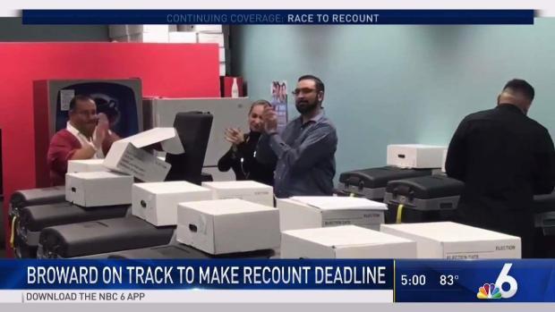 [MI] Broward On Track to Make Recount Deadline