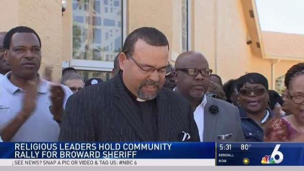 [MI] Broward Religious Leaders Backing Sheriff Scott Israel