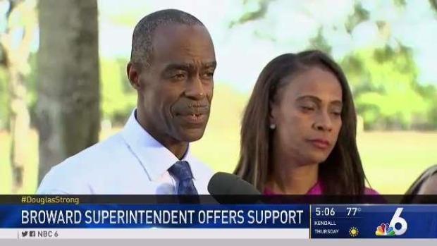 [MI] Broward Schools Superintendent Offers Support to Stoneman
