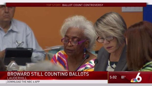 [MI]    Broward still counting the banknotes Friday after the election