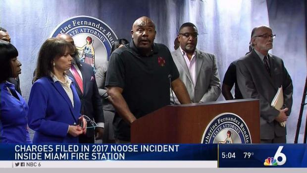 Charges Filed in Noose Incident at Miami Fire Station