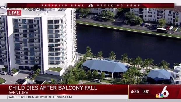 [MI] Child Dies After Fall From Balcony at Aventura Building