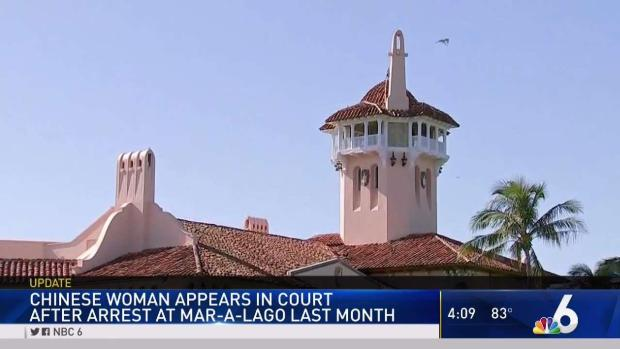 [MI] Chinese Woman Arrested at Mar-a-Lago in Court