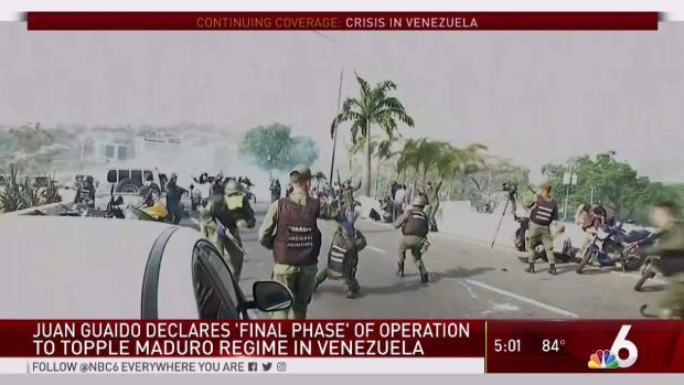 [MI] Clashes in Venezuela, Reaction in South Florida