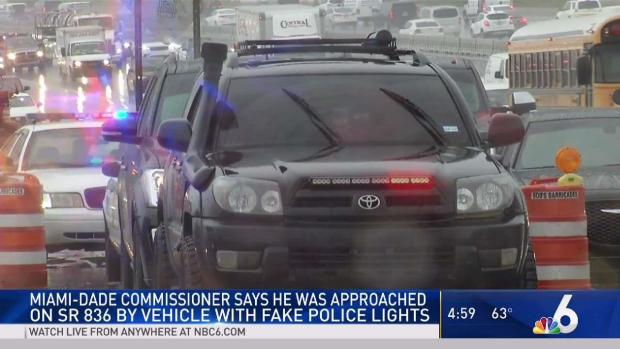 [MI] Commissioner Says He Was Approached by Fake Cop Car