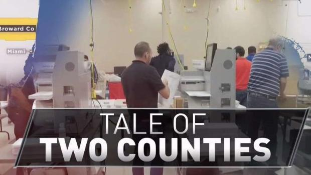 [MI] Comparing Recounts in Miami Dade and Broward Counties
