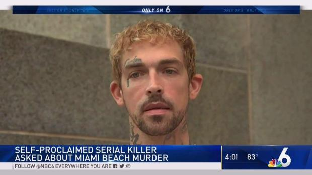 [MI] Confessed Serial Killer, Miami Beach Murder Suspect Speaks
