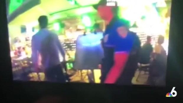 [NATL MI] Video Shows Miami Beach Cop Punching Man
