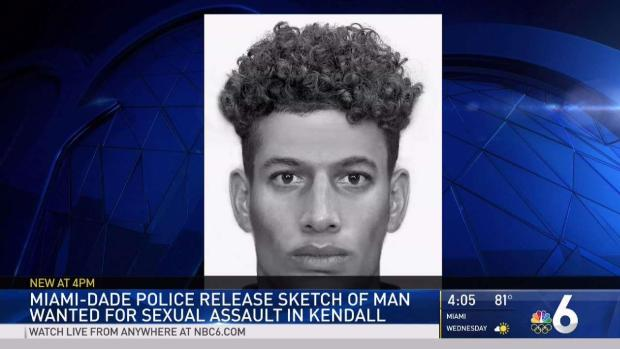 Man Who Sexually Assaulted Woman in Kendall Sought: Miami-Dade Police