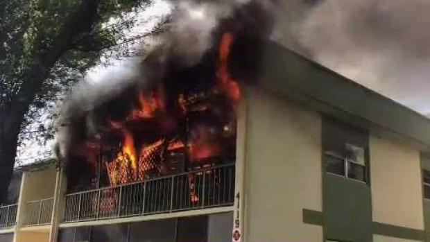 [MI] Coral Springs Apartments Burn in Fire