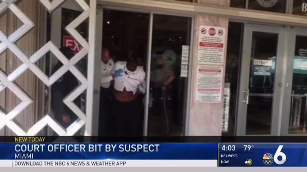 [MI] Court Officer Bitten by Suspect in Miami-Dade