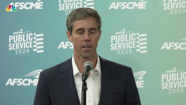 O'Rourke Reacts to Deadly Mass Shooting in El Paso, His Hometown