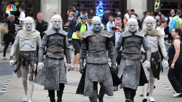 [NATL] Winter Is Here: White Walkers Descend on London