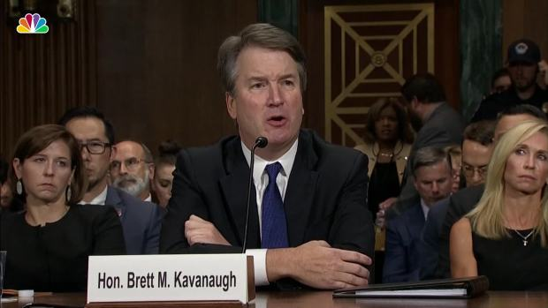 Kavanaugh Pressed About Drinking Beer