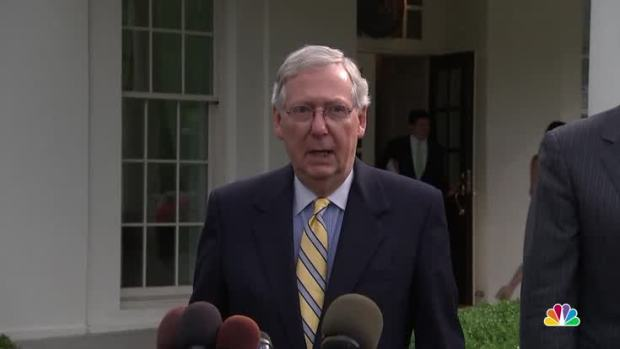 [NATL] McConnell: 'We're Not Quite There' on Health Care Bill