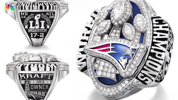 [NATL] President Trump Got His Own Super Bowl LI Ring