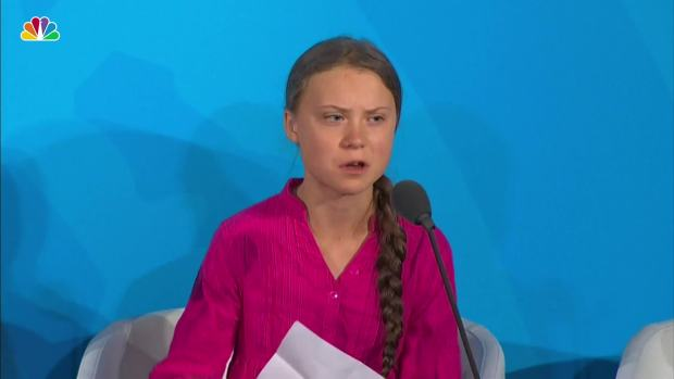 [NATL] 'Change Is Coming Whether You Like it or Not': Greta Thunberg