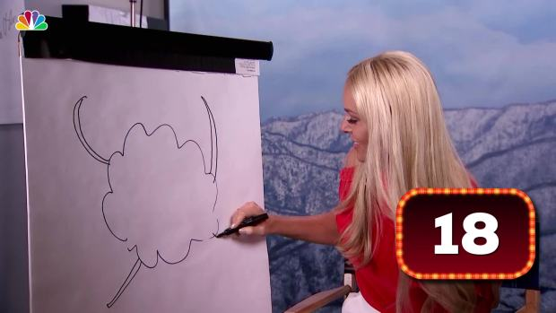 [NATL] What Is Lindsey Vonn Drawing?