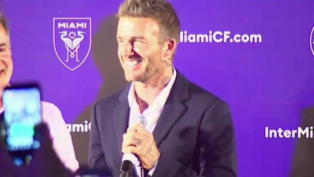 [MI] David Beckham Speaks After Soccer Stadium Approved