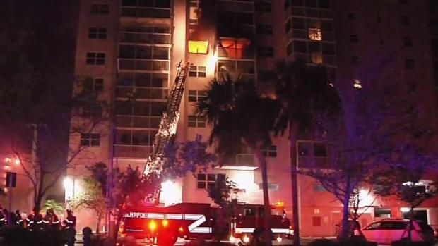 [MI] Deadly Fire Breaks Out in Pompano Beach Apartment