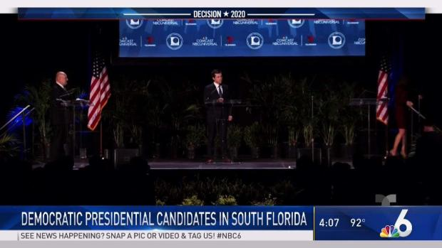 [MI] Democratic Candidates Attend Miami Forum