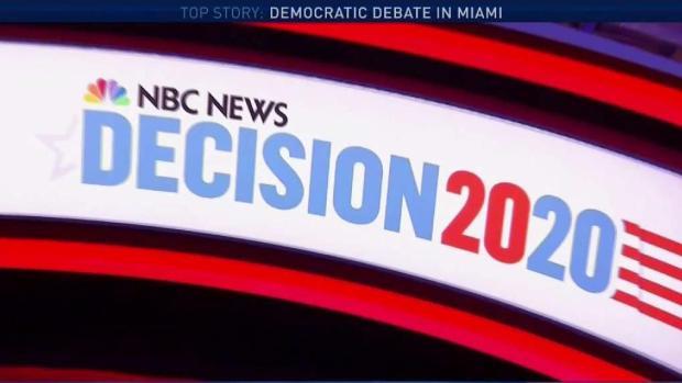 Democratic Candidates Prepare for 1st Night of Debates