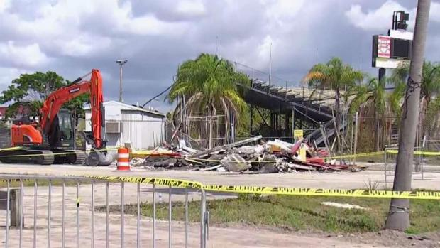 [MI] Demolition Starts at Lockhart Stadium in Fort Lauderdale