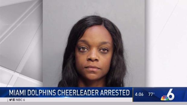 [MI] Dolphins Cheerleader Accused of Attacking Ex-Boyfriend