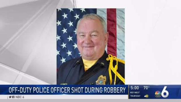 [MI] Doral Officer Shot During Robbery Recovering