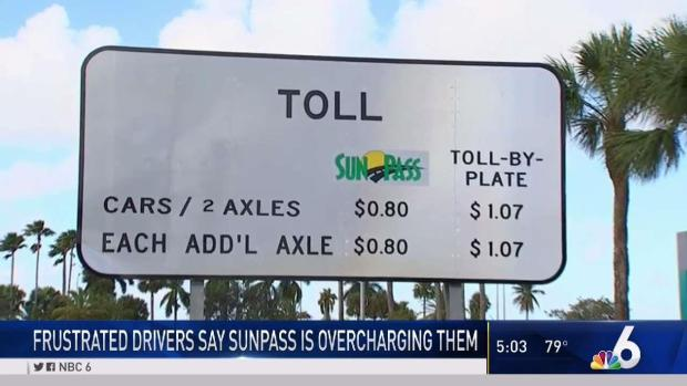 SunPass Customers With Transponders Will Have Bills Adjusted Down